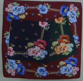 Womens Printed Handkerchief