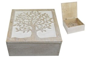 Tree of Life Carved Box