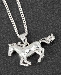 EQ Horse Necklace