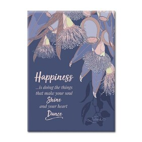 Bontanicals Plaque - Happiness