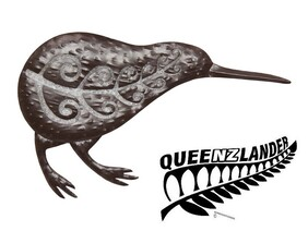 Kiwi Metal Wall Art