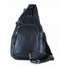 Leather Teardrop Backpack