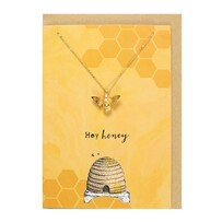 Hey Honey Necklace  Card