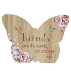 Bunch of Joy Butterfly Plaque - Friends